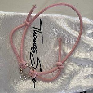 Thomas Sabo Pendent Rope Bracelet
